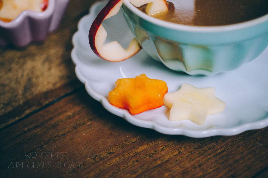 weihnachtliche Fruchtsuppe