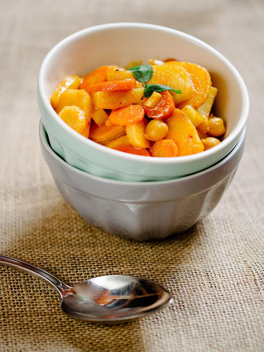 Curry mit Kichererbsen