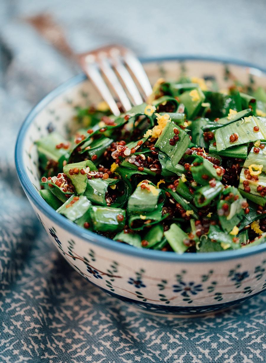 Bärlauch Quinoa Salat_4