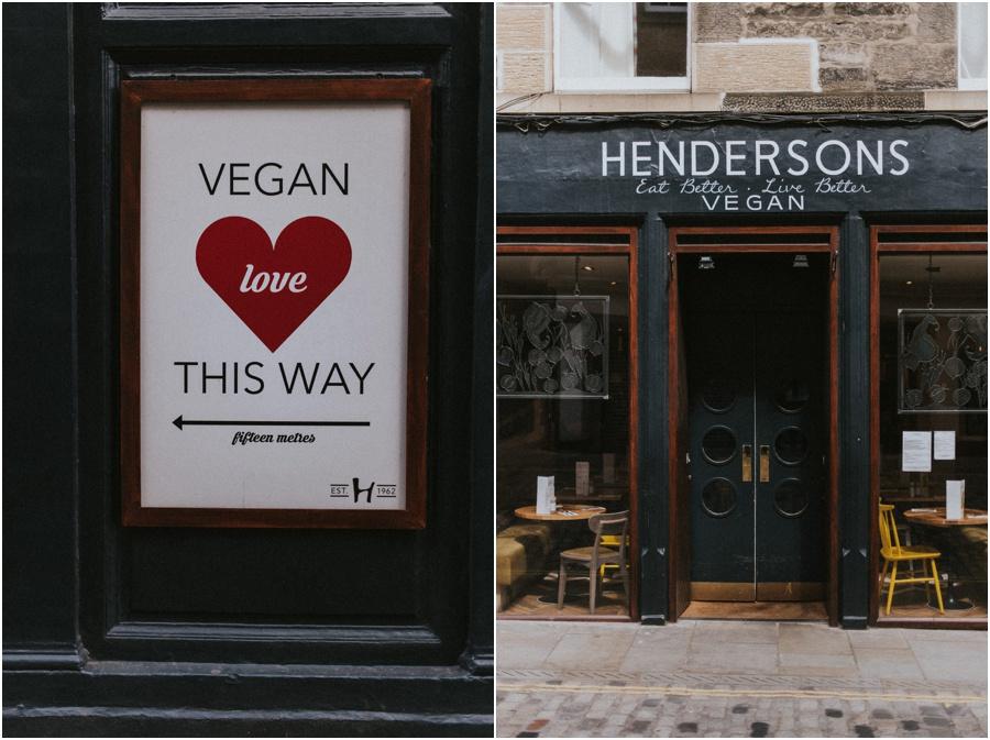 Auszeit in Schottland - Hendersons Vegan