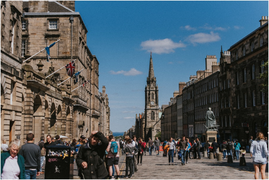 Auszeit in Schottland - die High Street