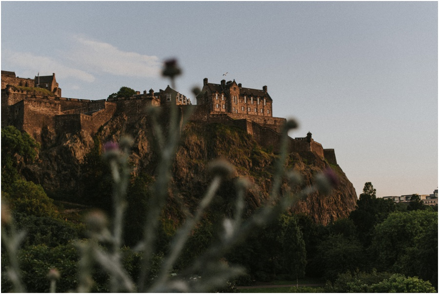 Auszeit in Schottland - Edinburgh Castle