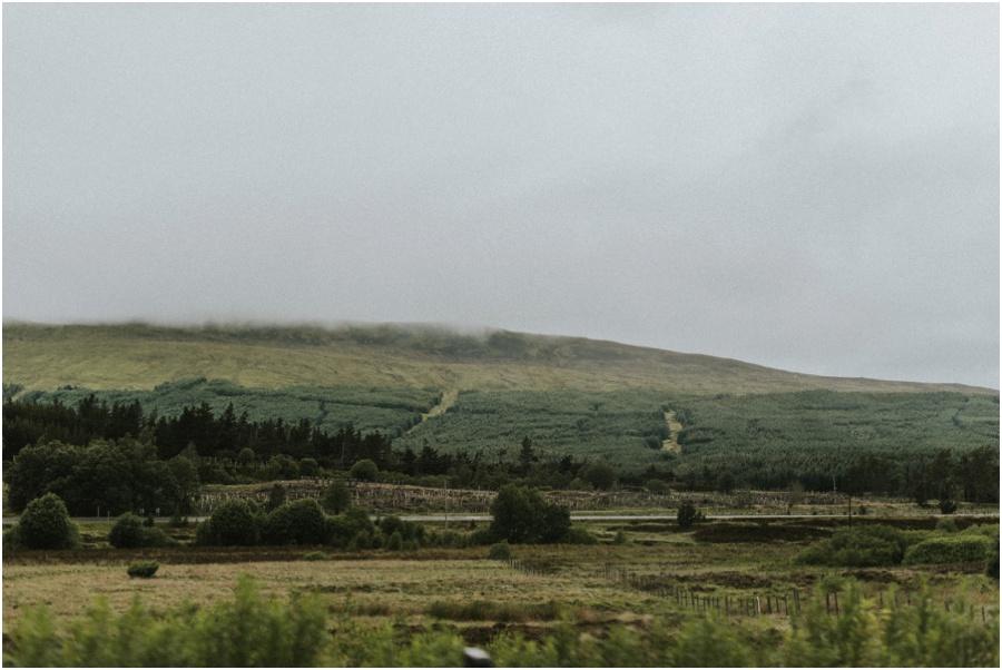 Loch Ness und die Highlands - Ausblick in die Highlands