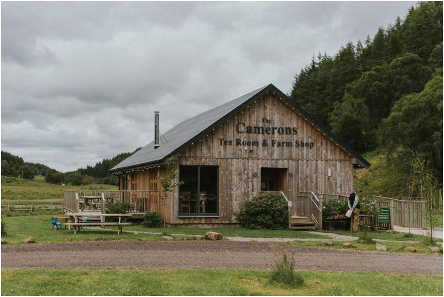 Loch Ness und die Highlands - Camerons Tee Room & Farm Shop