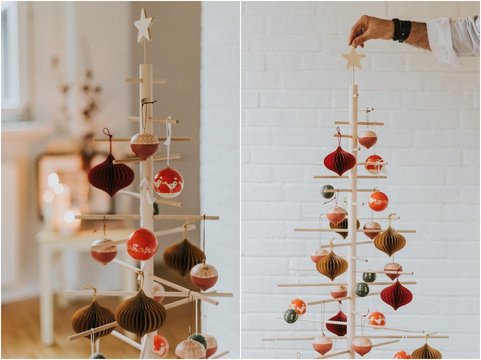 Ein nachhaltiger Weihnachtsbaum - traditionell geschmückt