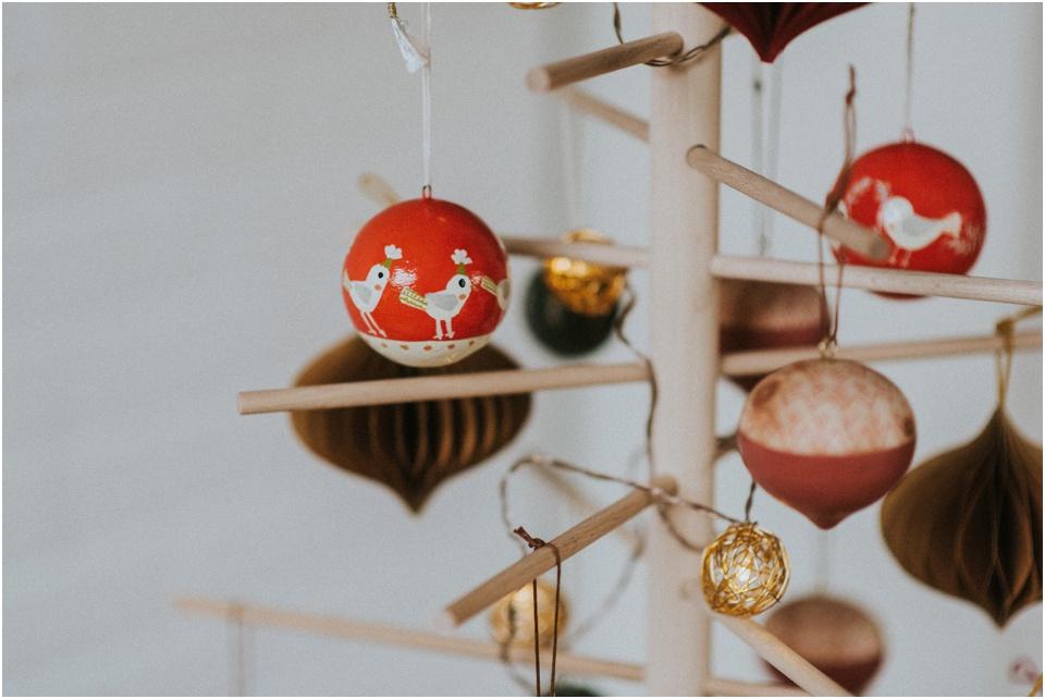 Ein nachhaltiger Weihnachtsbaum - Weihnachtskugeln von Dille & Kamille