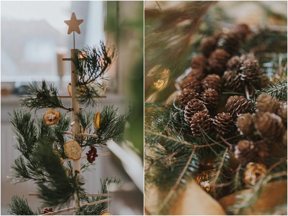 Ein nachhaltiger Weihnachtsbaum - naturnah geschmückt