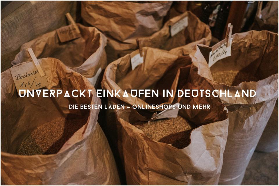 Unverpackt einkaufen in Deutschland