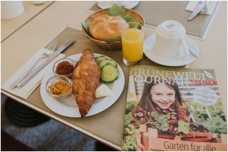 Das Boutique Hotel Stadthalle in Wien - das Frühstück