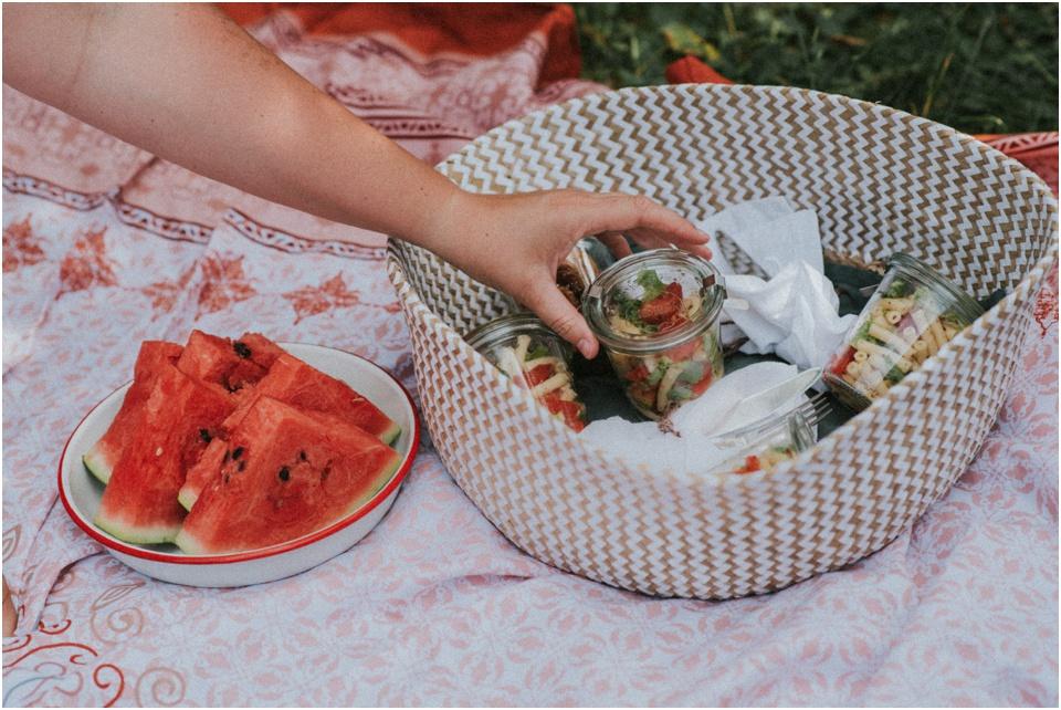 Picknick ohne Müll - Weckgläser für Salate und Co