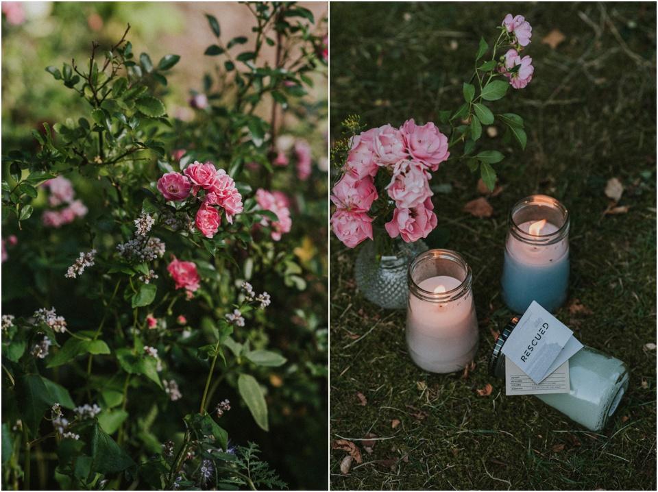 Sommer in meinem Garten - Rescued Kerzen von Dille & Kamille
