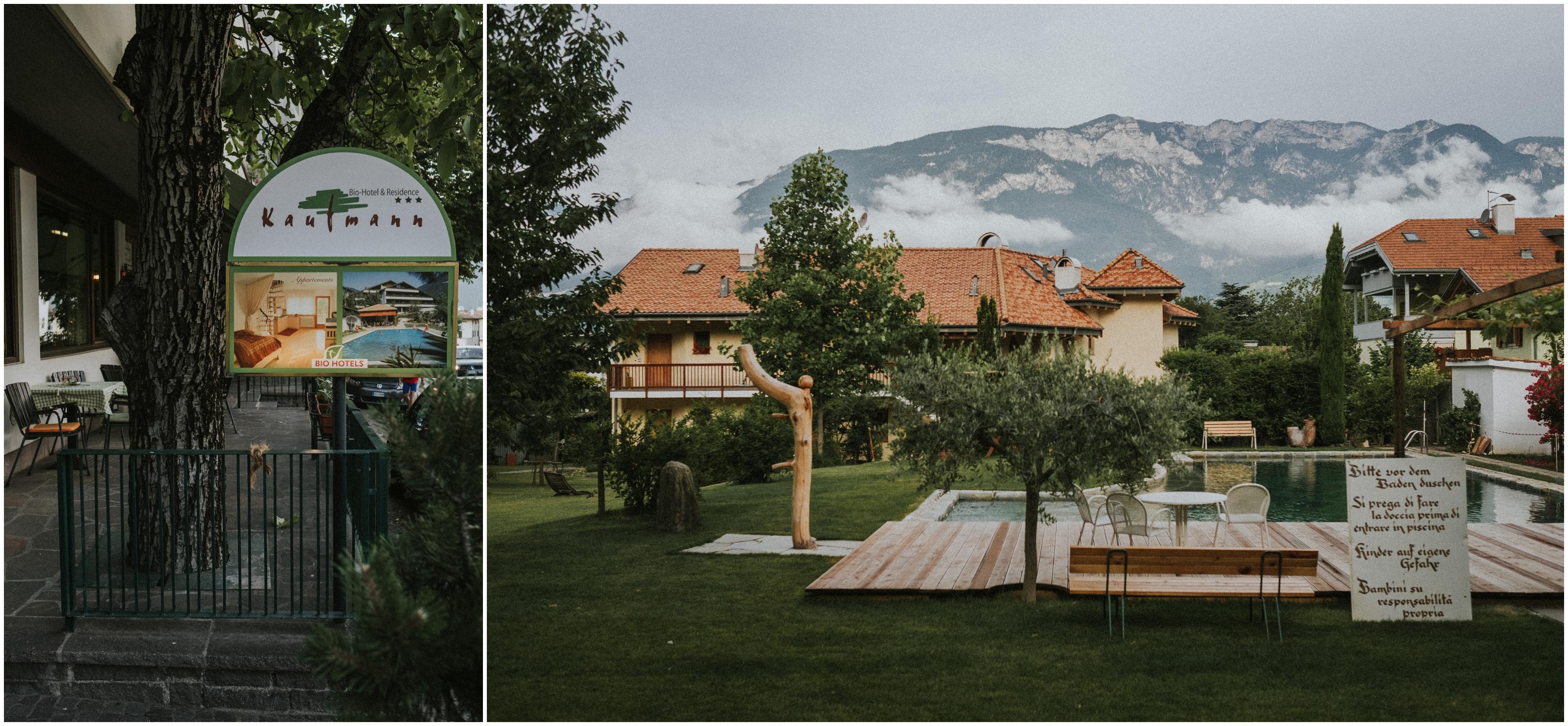 Das Biohotel Kaufmann in Auer / Südtirol
