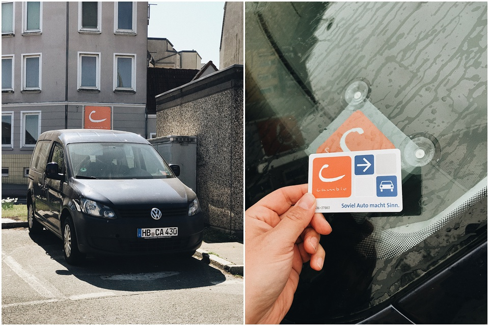 nachhaltig unterwegs mit dem Auto | cambio carsharing