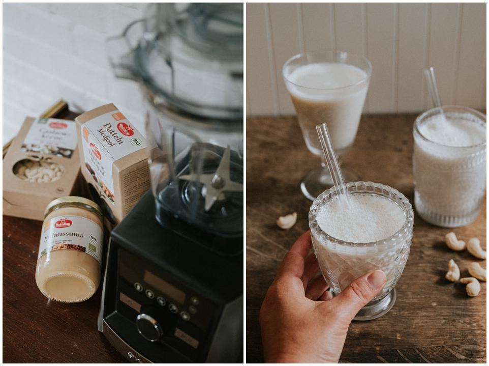 Vegane Milchalternativen - ganz einfach selbst gemacht | Vitamix von Keimling
